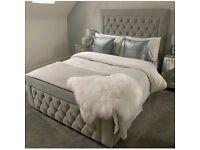 🌈🌈BEST SELLING BRAND🌈🌈 GREAT QUALITY PLUSH VELVET HEAVEN DOUBLE BED FRAME