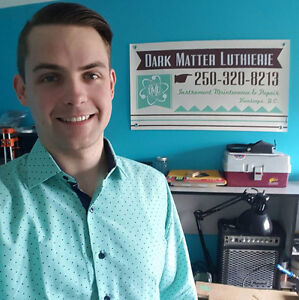 Dark Matter Luthierie Instrument Maintenance & Repair - Kamloops