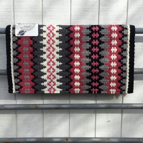 Western Show Blanket Pad by Mayatex - Pink and Gray