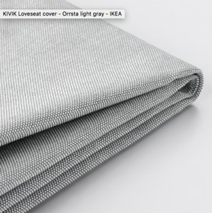 KIVIK Loveseat COVER Light Grey