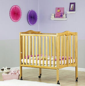 Brand New Dream On Me 2 in 1 Folding Side Crib & Mattress