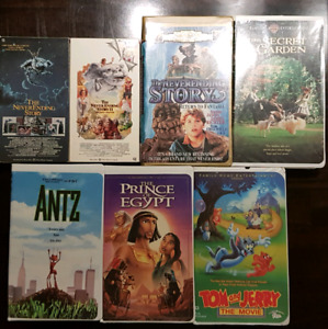 VHS family home video lot 2