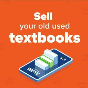 Sell your old textbooks! We pay for shipping!