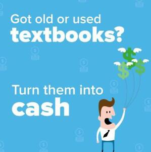Got old or used textbooks? Turn them into cash!