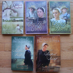 REDUCED! Wanda Brunstetter-Fiction-Inspirational Amish Romance