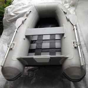 6' Inflatable Boat, Roll-up, Tender, Dinghy, Roll-up