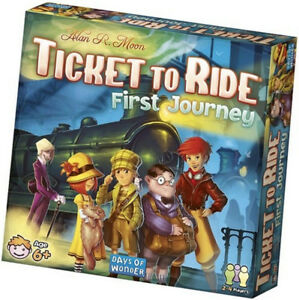 TICKET TO RIDE: FIRST JOURNEY AT TEDDY N ME