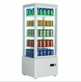 Commercial 98 Litre Display Refrigerator with digital temperature control