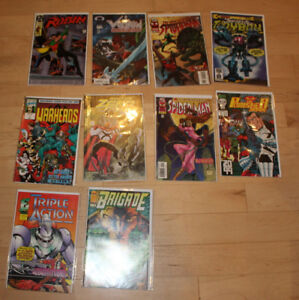 25 MINT Comics, Warheads, Spiderman, Punisher, etc...