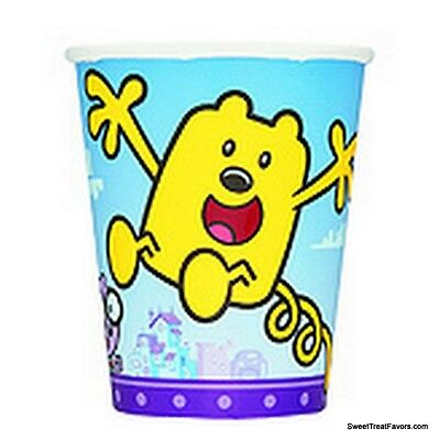 WOW WOW WUBBZY Party Cups Decoration kit Birthday Favor Dessert Supplies x8 NEW - Party Dessert Cups