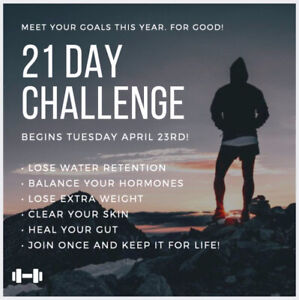 The Spring 21 Day Complete Body Reset Challenge!