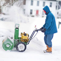 Snow Removal Service - Snow Blowing - Call or text 506 897-4848