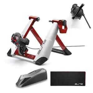 Elite Bicycle Trainer and Accessories for Sale