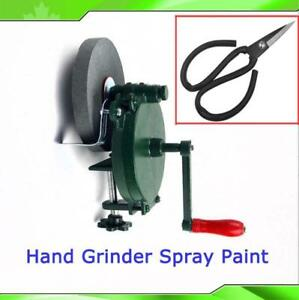 5 Hand driven grinder machine spray paint (item#134230)
