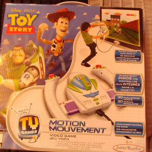 Toy Story motion movement video game-never used