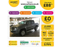 VOLKSWAGEN AMAROK A32 2.0 BITDI HIGHLINE 4M-PERM ULTIMATE FROM £88 PER WEEK!