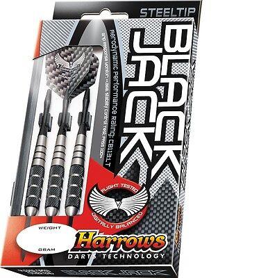 Harrows Black Jack Stainless Steel Darts
