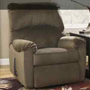 NEW Ashley Furniture Swivel Rocker Recliner Chair Lazy Boy