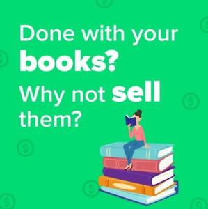 Done with your books? Why not sell them?