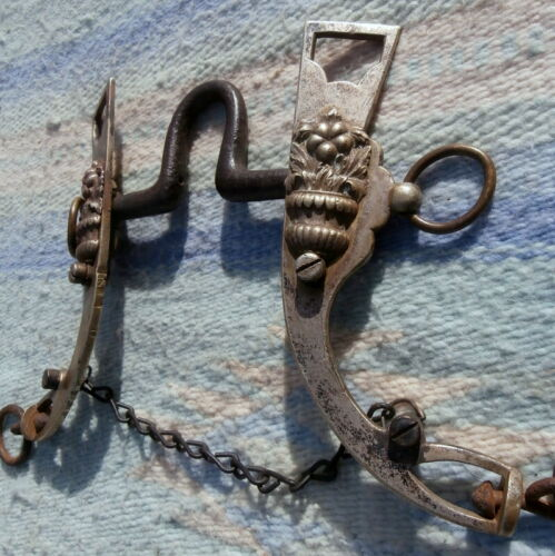 Old Antique South American?? Horse Bit Removable Mouth Piece High Port
