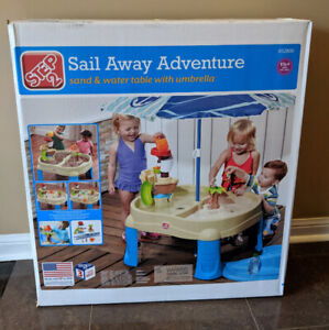 Step 2 Sail Away Adventure Water/Sand Table