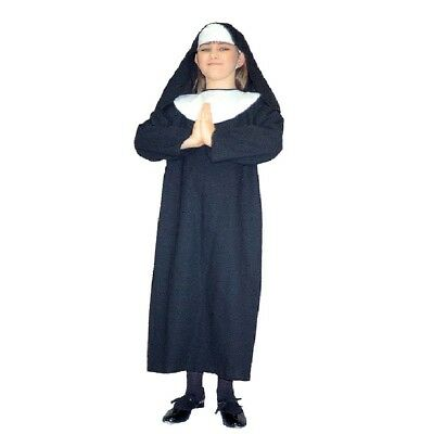 Baby Nun Costume (Lil Sister Nun Costume Child - Large)
