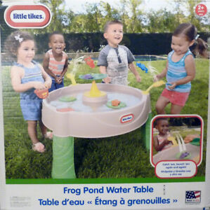 *NEW*Little Tikes Frog Pond Water Table*Lily Pad*Splash*Play*Fun