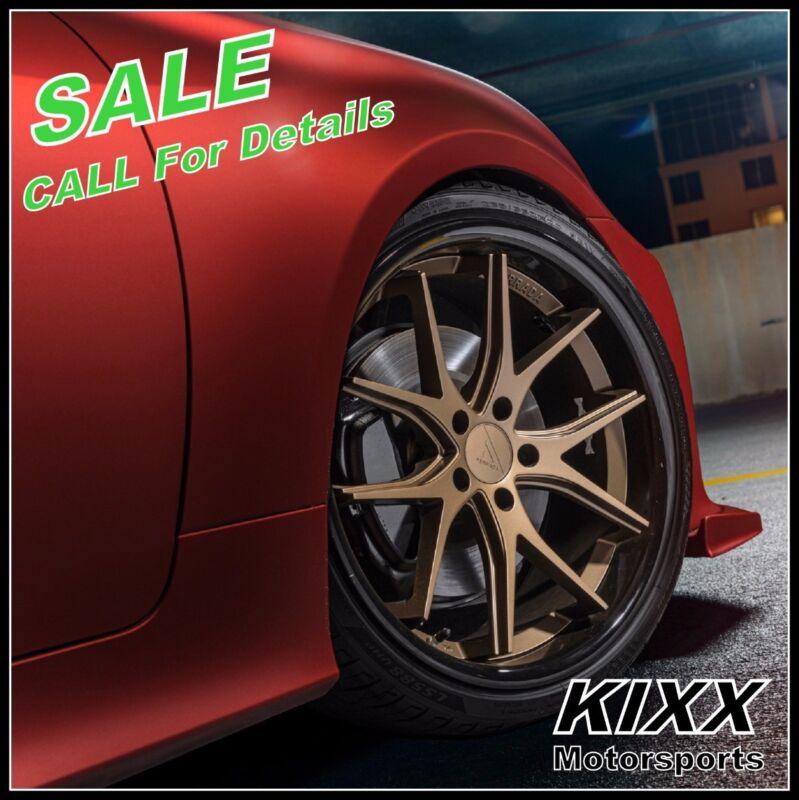 """19"""" Ferrada Fr2 19x8.5/9.5 Bronze Wheels Rims For Bmw F30 320 328 335 Sedan"""