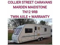 2005 sterling searcher elite fixed bed 4 berth twin axle caravan