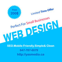 Professional Web Design 200$- No Hidden Fees