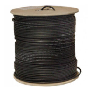A677TS-BF-1P-X1 BLACK BURIAL RG6 COAXAIL CABLE