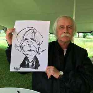 the wedding caricature  West Island Greater Montréal image 1