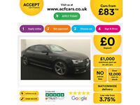 Audi A5 Black Edition FROM £83 PER WEEK!