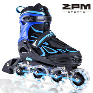 Brand New 2PM SPORTS Vinal Adjustable illuminating Inline Skates