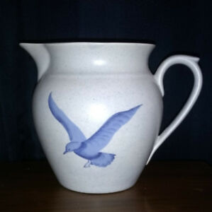 Hand Painted Pottery Jug