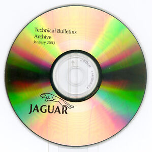 Jaguar OEM CD 1988 to 2003 Bulletins Archive (Like New)