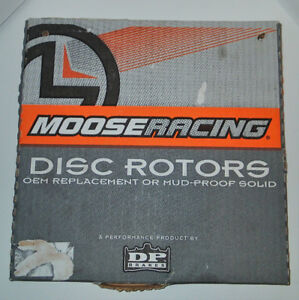 NEW Dirt Bike Parts, MOOSERACING Disc Rotor OEM