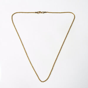14k solid gold rope chain 7.2 grams London Ontario image 1