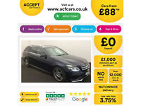 Mercedes-Benz E350 AMG Line FROM £88 PER WEEK!