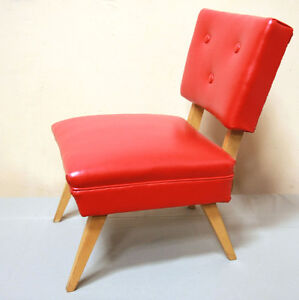 Mid Century Mod Professionally Restored Accent Chair SEE VIDEO