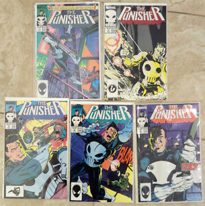 Marvel's Punisher comics  #1,2,3,4,5,6,7 and more - Spider-Man