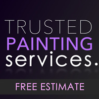 Finest PAINTING services | SERVING GTA | 1 YEAR WARRANTY!