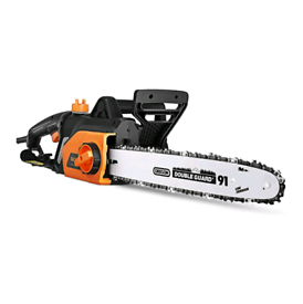 1800W Chainsaw, 35cm Bar, Electric Chainsaw with Tool-Free Chain