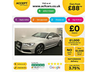 Audi A6 Saloon Black Edition FROM £88 PER WEEK!