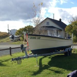 22 foot open boat for sale