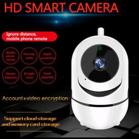 Wireless IP Camera 1080P Home Security Wifi Cloud SD Camera Smart Aut