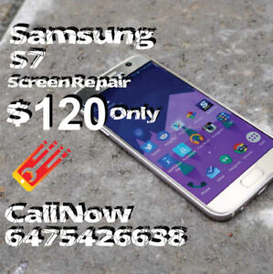 Samsung Note 3, 4, 5, Galaxy S4, S5, S6, S7, S8 Screen Repairs