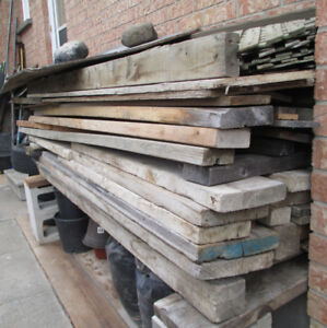 FREE WOOD ... 2X4 , Planks, Fencing ... 100 pieces . All Lengths