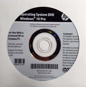 Windows 8/ 10 Pro DVD