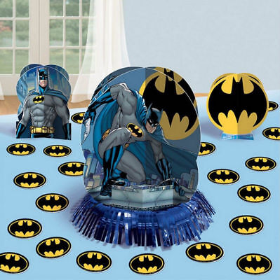 Batman Table Decorating Kit 23 Piece Centerpiece Party Supplies - Batman Centerpieces
